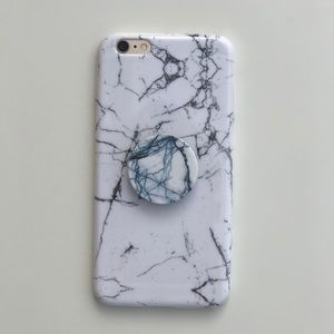 Accessories - Marble iPhone 5/5s/6/6+/7/7+ and mobile stand(pop)