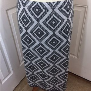 Elements by Nina Dresses & Skirts - Darling diamond patterned skirt