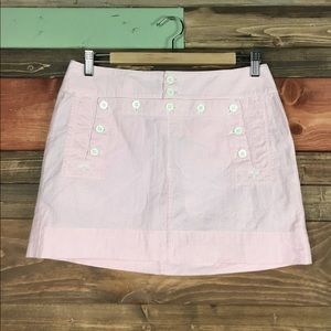 Ralph Lauren Dresses & Skirts - Ralph Lauren Rugby Pink Seersucker Mini Skirt 2