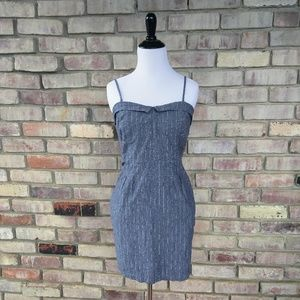 Volcom Dresses & Skirts - Adorable Chambray Pinstripe Dress by Volcom