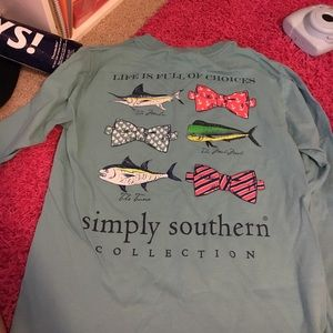 Simply Southern Tops - Simply southern tshirt USED