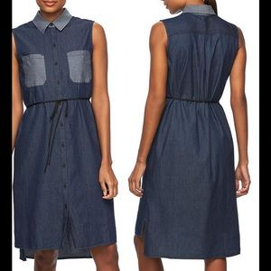 Reed Krakoff Dresses & Skirts - Chambray Shirtdress Shift Dress REED S Women's NWT