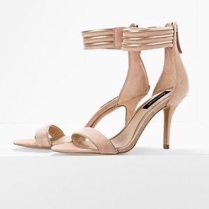 White House Black Market Shoes - White House Black Market Open Toe Heels