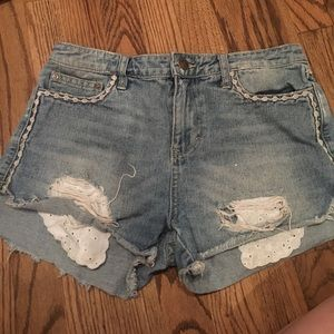 Free people shorts size 26