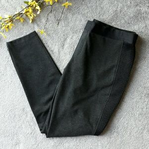 Elie Tahari Pants - Elie Tahari Irene pants grey Ponte leggings, mesh