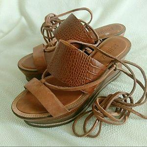 SCHUTZ Shoes - Schutz leather platforms