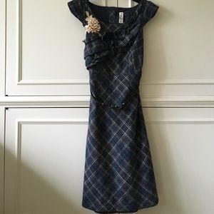 Beautiful Anthropologie tweed dress
