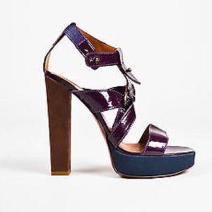 Lanvin Shoes - ✨EUC Lanvin Patent Leather Platform Heels