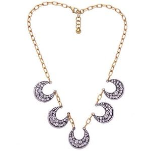Lulu Frost Jewelry - Lulu Frost Crescent Necklace