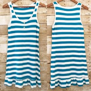Juicy Couture Dresses & Skirts - Juicy Couture aqua Striped Doll Angel Pique Dress