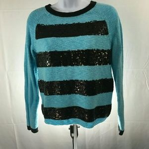 Justice Other - ❤ Justice Juniors Sequin Long Sleeve Top Size 16