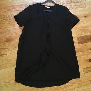 Black L Stella Luce tshirt swing dress.