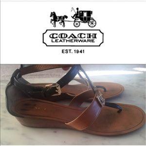 Coach Shoes - COACH leather Size 9
