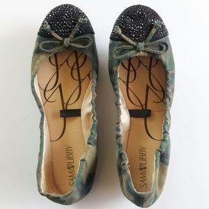 Sam & Libby Shoes - Sam & Libby Camo Brynn Flats