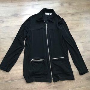 Chico's Jackets & Blazers - Chico's traveler full zip up jacket