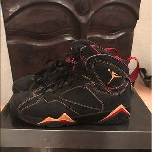 be6d6a76785 Women s Citrus Jordan 7 on Poshmark
