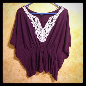 Amy Byer Tops - Gorgeous Bat Wing Top