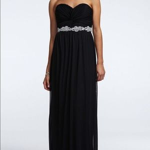 Long Black Prom Dress from David's Bridal