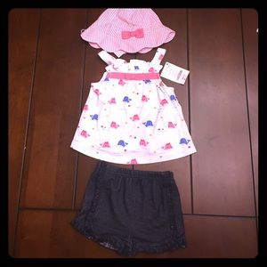 Gymboree Other - NWT Gymboree outfit (shorts are free throw in).