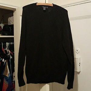 Blumarine Sweaters - Italian made black wool sweater