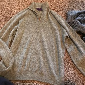 alan flusser Other - Alan flusser cashmere zip up sweater. Never worn.