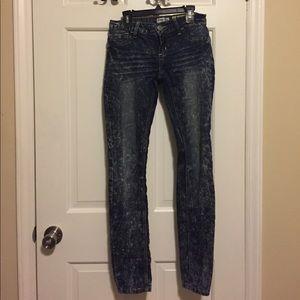 Indigo Rein Denim - Acid wash skinny jeans