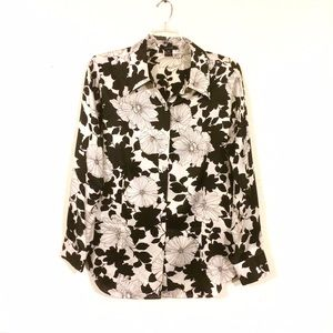 Karen Kane Tops - Karen Kane Silk Floral Top