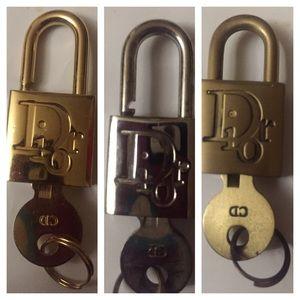 Dior Accessories - Dior lock and key