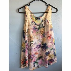 kandy kiss Tops - Floral Shirt