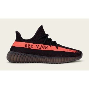 Yeezy Shoes - Adidas Yeezy v2 red stripe