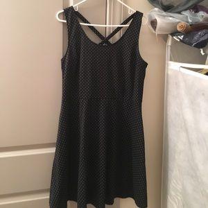 H&M Dresses & Skirts - Black and White Skater Dress