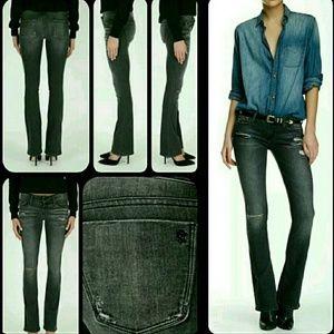 Black Orchid Denim - Black Orchid Destructed Skinny Flare Jeans BNWT