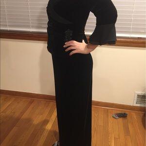 Jack and Jones Dresses & Skirts - Black velvet formal dress