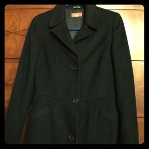 Barneys New York CO-OP Jackets & Blazers - Barney's NY Co-Op Sz 2 black wool/cashmere coat