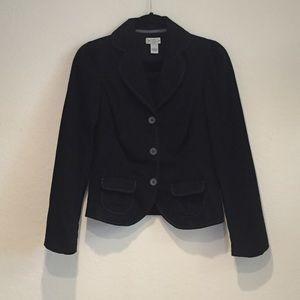 Size 4 Anthropologie Black Blazer