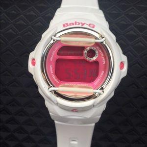 Casio Accessories - Baby g white watch