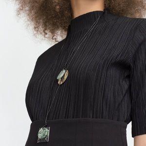 NEW Zara Stone Necklace Duo