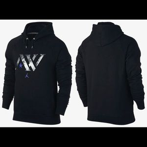 Jordan Other - Air Jordan Andre Ward AW Logo Fleece Mens Hoodie