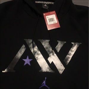 5f11bf8986c026 Jordan Jackets   Coats - Air Jordan Andre Ward AW Logo Fleece Mens Hoodie