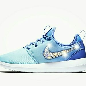 Shoes - Brand new nike roshe two with swarovski crystals
