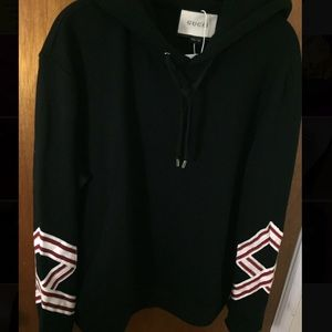 Gucci Other - Authentic Gucci hoodie with embroidered flowers