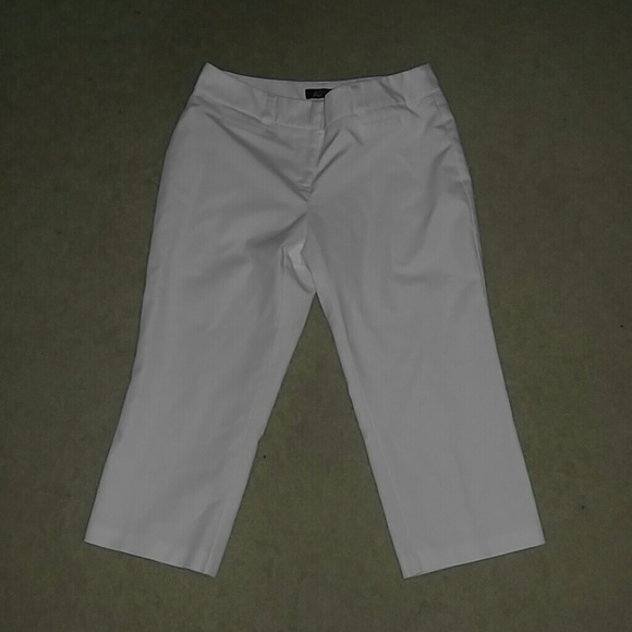 Apt. 9 Pants - Apt. 9 White carpis