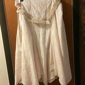 bfa classics  Dresses & Skirts - 🍒 SUMMERTIME🍒CLASSIC peach & cream skirt 2X