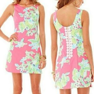 Lilly Pulitzer Dresses & Skirts - NEW Lilly Pulitzer Delia Shift Dress Pink Lemonade