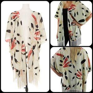 TillieCreekClothing Tops - Desert Dream Fringe Kimono