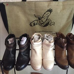 Steve Madden Shoes - FREEBIRD BY STEVEN Simba Booties NWT RARE  Black