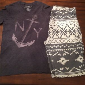 Aeropostale Other - Anchor V-Neck Tee