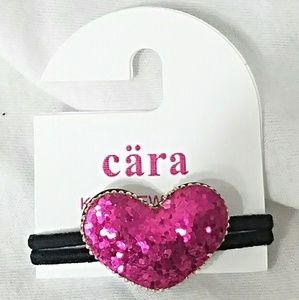Cara Kid's New York Other - CARA KIDS NEW YORK Pink Large Glitter Pony Elastic