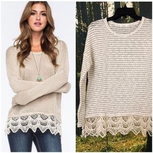 Tilly's Sweaters - Blue Pepper Sweater