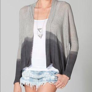 Full Tilt Sweaters - Flowy Ombre Cardigan